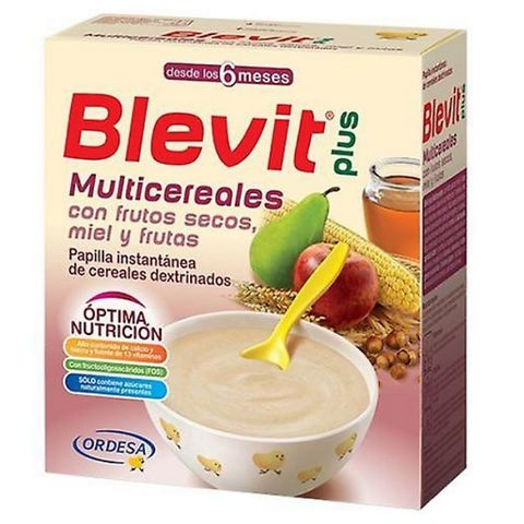 Blevit plus Бебешка каша Асорти с бифидус ефект за деца от 6 месечна възраст х300гр
