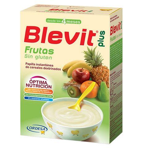Blevit plus Плодова каша с бифидус ефект за деца от 4 месечна възраст x300 грама