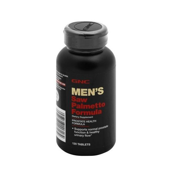 GNC Mens Saw Palmetto Формула за простатата х120 таблетки