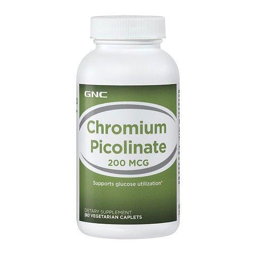 GNC Chromium Picolinate Хром Пиколинат 200 мг х90 капсули