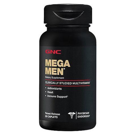 GNC Mega Men Мултивитамини за мъже х28 таблетки с удължено освобождаване
