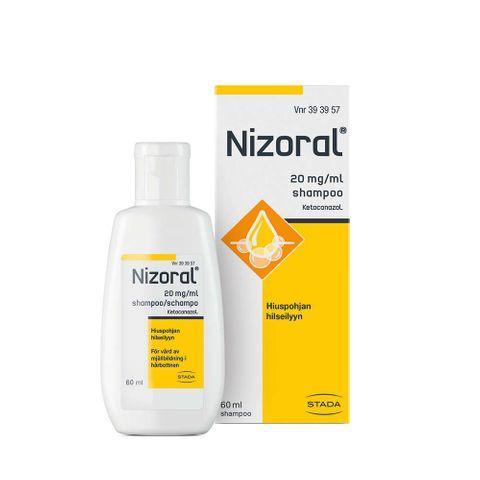 Низорал Лечебен шампоан пърхот и себореен дерматит 2% х60 мл - Stada