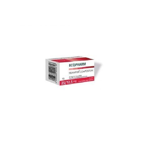 Триампур композитум 25 mg/12,5 mg х50 таблетки