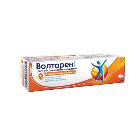 GSK Волтарен Емулгел за лечение на болка, възпаление и оток при ставите и мускулите 1.16% х50 грама