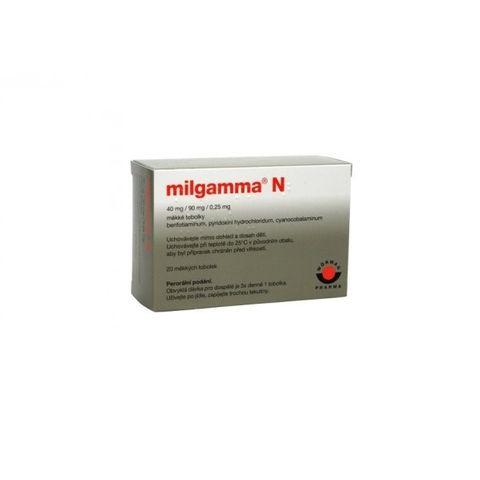 Mилгамма N  40 mg/90 mg/250 х20 микрограма меки капсули