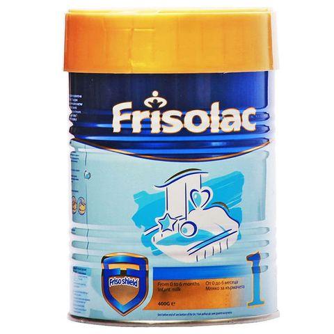 Frisolac 1 Мляко за кърмачета от 0 до 6 месечна възраст x 400 грама