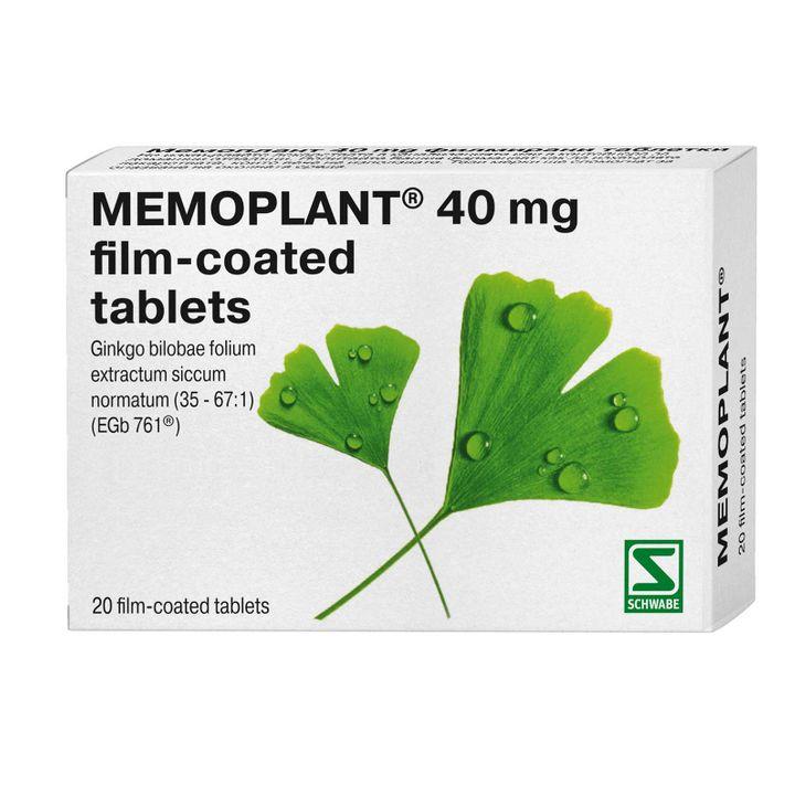 Мемоплант за памет и оросяване 40 мг x20 таблетки Naturprodukt