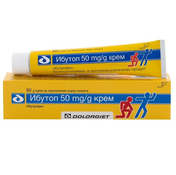 Ибутоп Крем при болки в ставите и мускулите х50 грама Naturprodukt