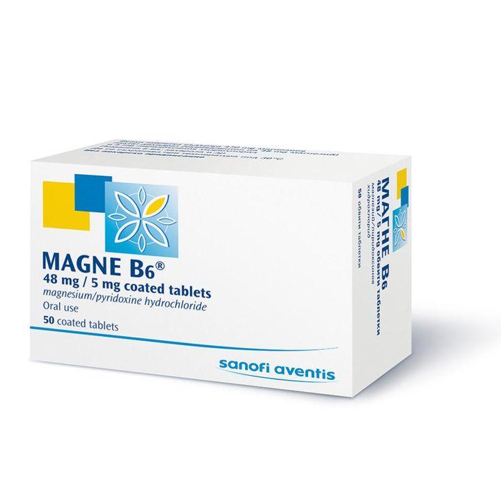 Магне В6 х50 таблетки Sanofi