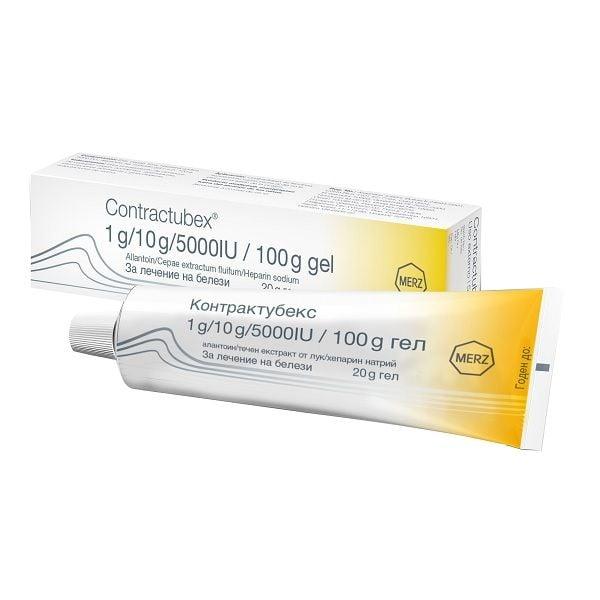 Contractubex Гел за лечение на белези х20 гр
