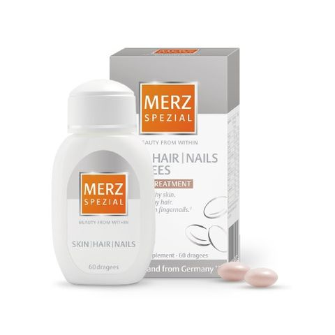 Merz Special Дражета за свежа кожа, блестяща коса и здрави нокти х60 таблетки