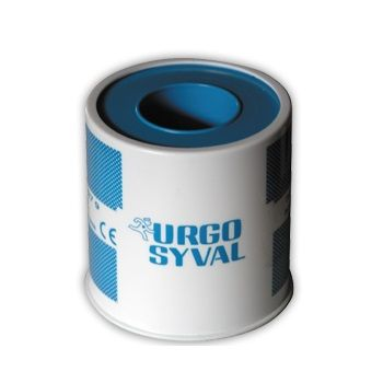 Urgo Ургосивал Хипоалергенен копринен лейкопласт 5см х5 метра