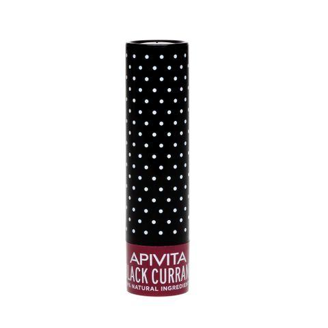 Apivita Балсам за устни с касис и цвят бордо х4.4 грама