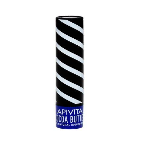 Apivita Хидратиращ балсам за устни с какаово масло, SPF 20 х4.4 грама