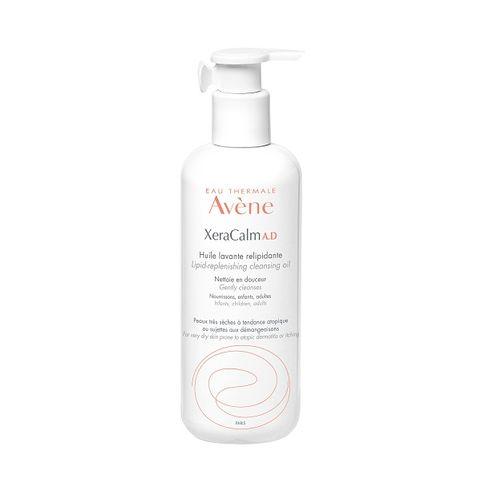 Avene XeraCalm A.D Релипидиращо почистващо олио за суха кожа x400 мл