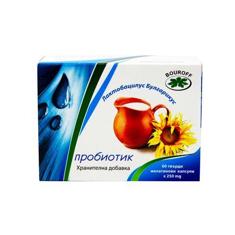 Bouroff Лактобацилус Булгарикус Пробиотик х60 капсули