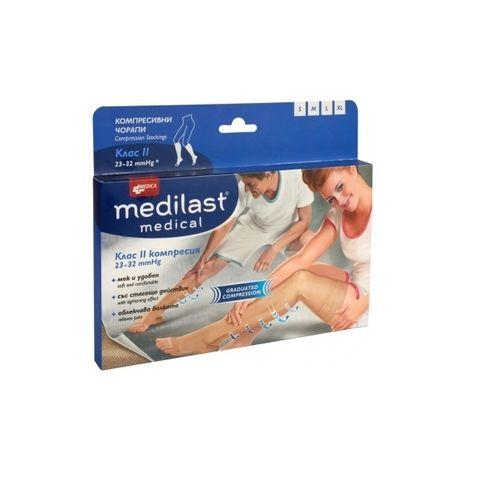 Medica Medilast Medical ⅞ Компресивен чорап Клас II с градирана компресия L х1 брой