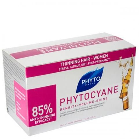 Phyto Phytocyane Ампули против косопад за жени х7.5 мл 12 броя