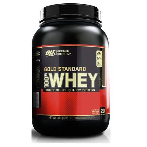 Optimum Nutrition Gold Standard 100% Whey Суроватъчен протеин Шоколад х909 грама
