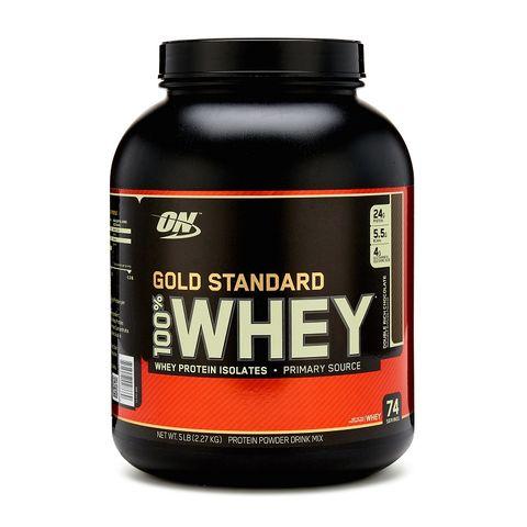 Optimum Nutrition Gold Standard 100% Суроватъчен протеин Шоколад х2270 грама