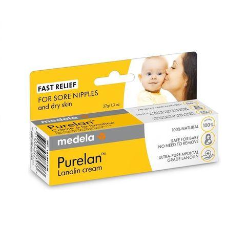 Medela Purelan Крем за сухи и чувствителни зърна х37 грама