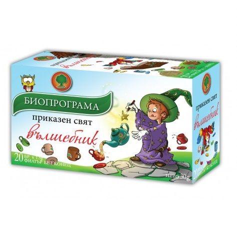 Биопрограма Детски Чай Вълшебник х20 филтърни пакетчета
