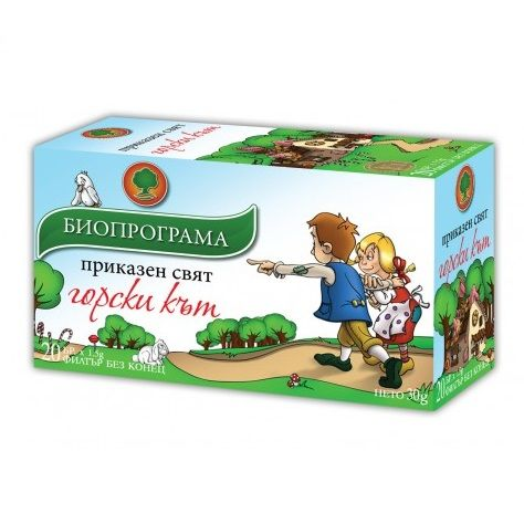 Биопрограма Детски Чай Горски Кът х20 филтърни пакетчета