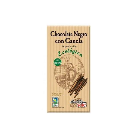 Sole Био черен шоколад с канела без глутен х100 грама