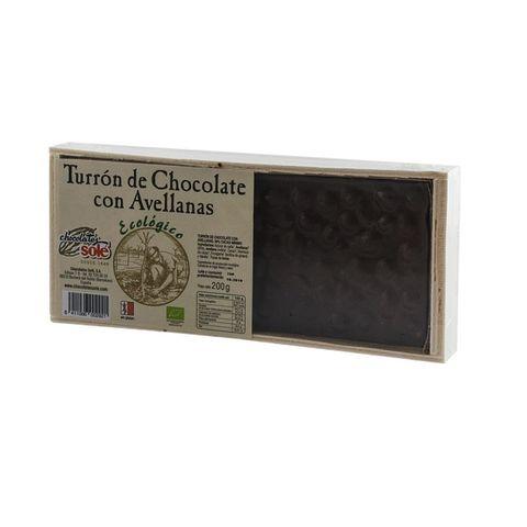 Sole Био шоколад с лешници Турон без глутен х200 грама