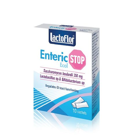Лактофлор Ентерик Екол за стомашно-червен комфорт x10 сашета