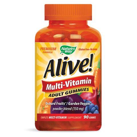 Alive Мултивитамини за възрастни х90 желирани таблетки Nature's Way