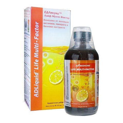 AD Medicine ADLiquid Life Multi Factor При умора и стрес х237 мл