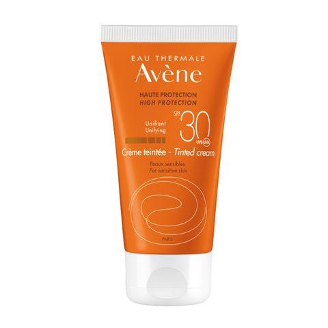 Avene Тониран слънцезащитен крем за лице SPF 30 x50 мл
