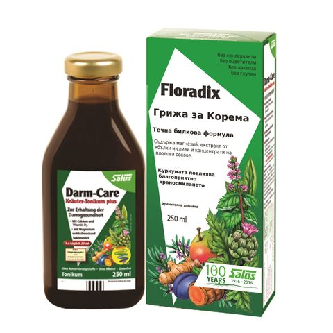 Floradix Грижа за корема Билков еликсир х250 мл