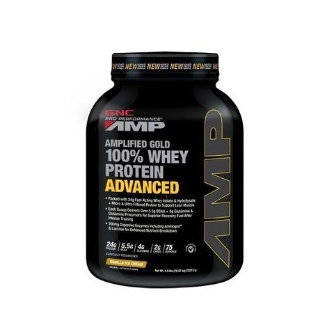 GNC Pro Performance AMP Gold суроватъчен протеин с вкус на ванилов сладолед х2227,5 грама