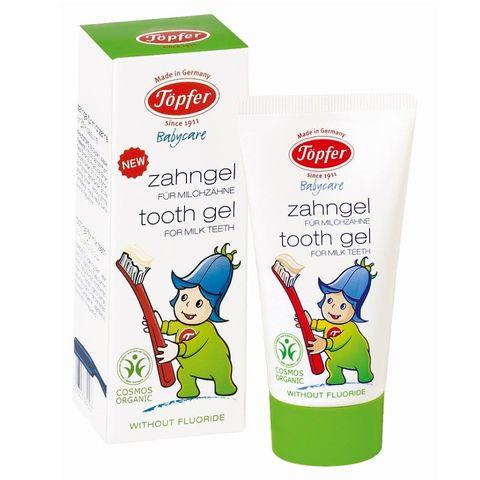 Topfer Измиващ гел за млечни зъби x50 мл