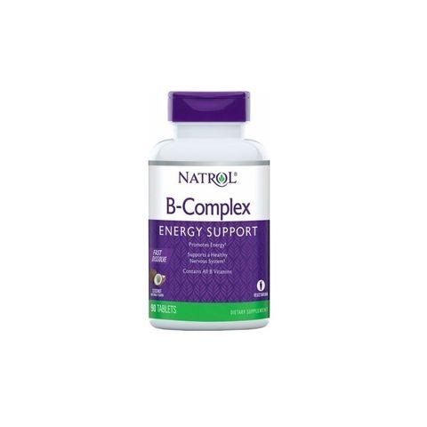 Natrol Бързоразтворим B-комплекс x90 таблетки