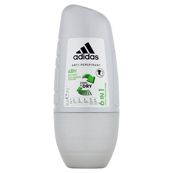 Adidas 6in1 48h Мъжки рол-он против изпотяване х50 мл