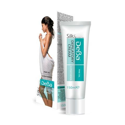 Deva Silk & Comfort Депилиращ крем за тяло с масло от бор х100 мл