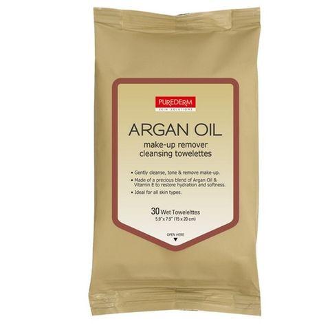 Adwin Purederm Мокри кърпи с арганово масло х30 броя