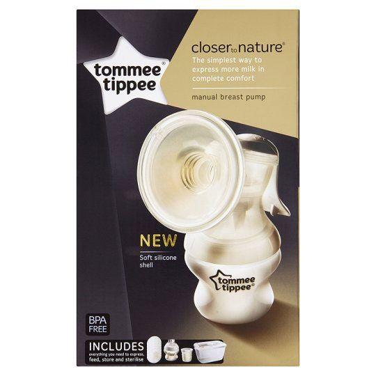 Tommee Tippee Closer to Nature Механична помпа за изцеждане на кърма