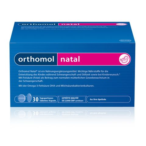 Ортомол Натал х30 сашета