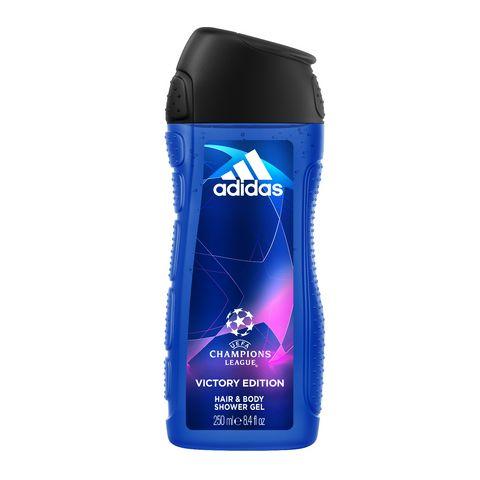 Adidas Champions League Мъжки освежаващ душ гел за коса и тяло х250 мл