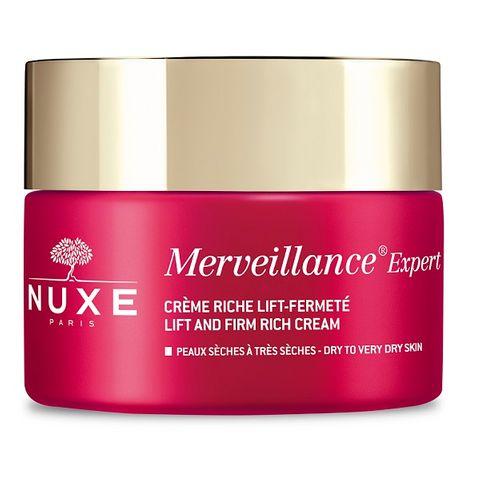 Nuxe Merveillance Expert Коригиращ крем за лице против дълбоки бръчки за много суха кожа x50 мл
