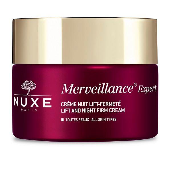 Nuxe Merveillance Expert Регенериращ нощен крем за лице против дълбоки бръчки x50 мл