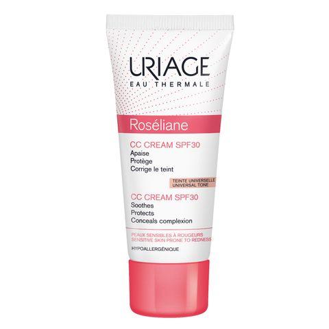 Uriage Roseliane СС Крем за лице за корекция на тена за чувствителна кожа SPF30 x40 мл