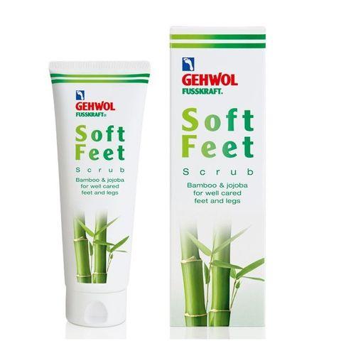 Gehwol Soft Feet Бамбуков пилинг за крака за почистване на мъртва кожа х125 мл