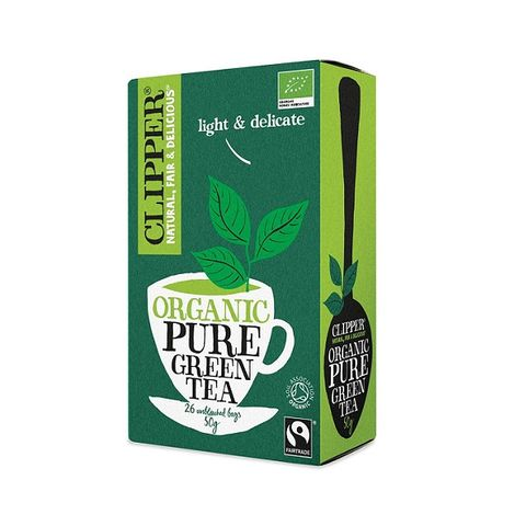 Clipper Био зелен чай х25 пакетчета