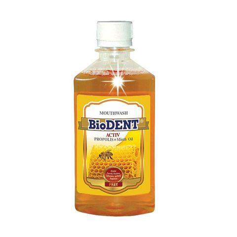 BioDent Activ Антибактериална вода за уста с прополис х300 мл