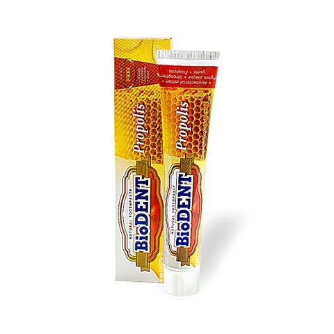 BioDent Propolis Антибактериална паста за зъби с прополис х75 мл